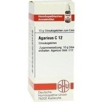 Agaricus C12  Globuli