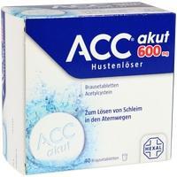 Acc Akut 600 Hustenlöser Brausetabletten
