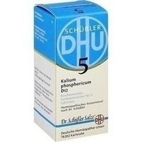 Biochemie Dhu 5 Kalium Phosphoricum D12  Tabletten