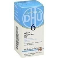 Biochemie Dhu 6 Kalium Sulfuricum D12  Tabletten