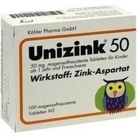 Unizink 50  Tabletten