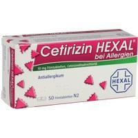 Cetirizin Hexal Bei Allergien  Filmtabletten