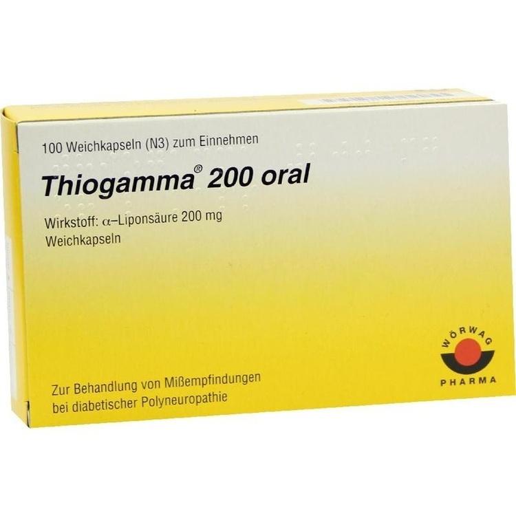 thiogamma 200 oral wka medikamente aus ihrer apotheke. Black Bedroom Furniture Sets. Home Design Ideas