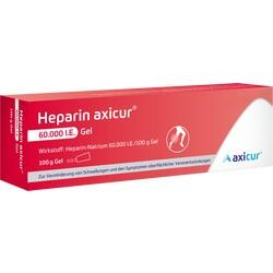 HEPARIN AXICUR 60000 I.E.