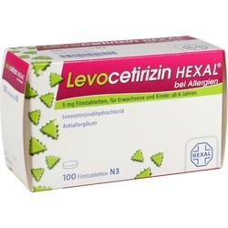 LEVOCETIRIZIN HEX ALLERG 5