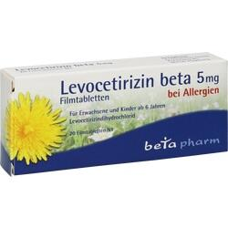 LEVOCETIRIZIN BETA 5MG