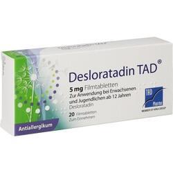 DESLORATADIN TAD 5MG FTA